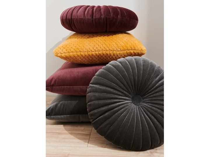 Sinsay - Poduszka Ø 36 cm - Szary Poduszka dekoracyjna Okrągłe Pomieszczenie Salon