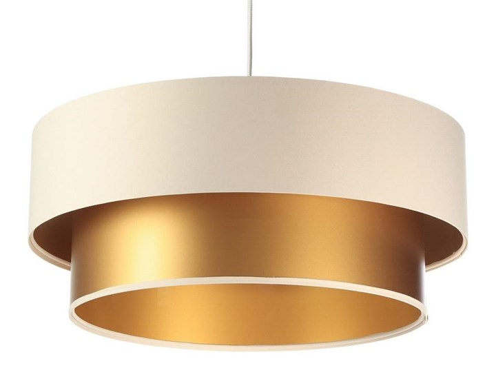 Żyrandol na lince DUO 1xE27/60W/230V Tkanina Metal Tworzywo sztuczne Kategoria Lampy wiszące