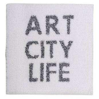 Dywanik łazienkowy Sorema Art City Life White