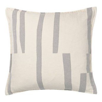 Poduszka bawełniana Elvang Lyme Grass Grey