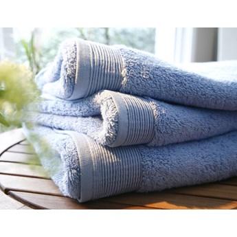 Ręcznik Blanc Des Vosges UNI Błękitny Outlet