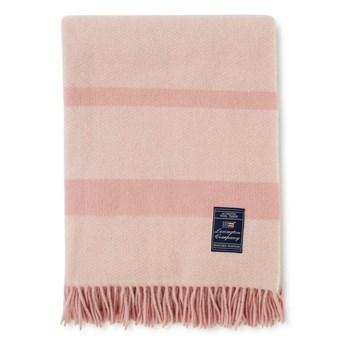 Pled wełniany Lexington Spring Herringbone Recycled Wool Pink