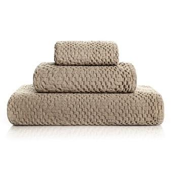 Ręcznik bawełniany Bricini Be Vegan Stone