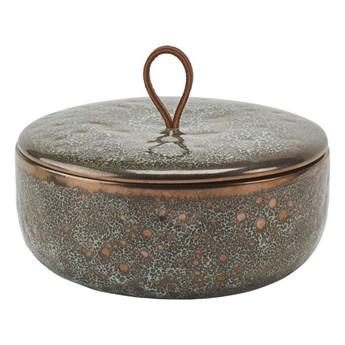 Miska z pokrywką Aquanova UGO Vintage Bronze