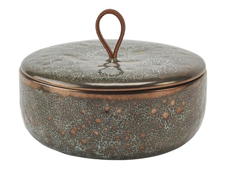 Miska z pokrywką Aquanova UGO Vintage Bronze Tworzywo sztuczne Kategoria Mydelniczki i dozowniki Ceramika Kolor Szary