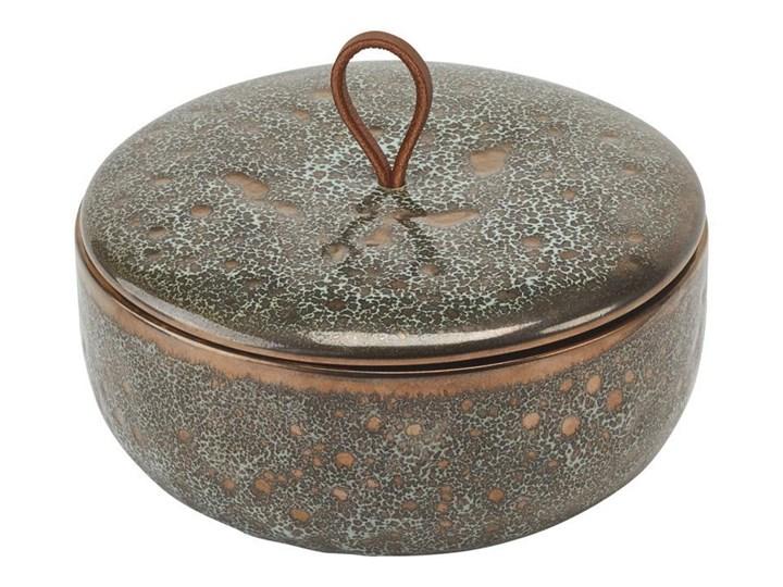 Miska z pokrywką Aquanova UGO Vintage Bronze Tworzywo sztuczne Ceramika Kategoria Mydelniczki i dozowniki