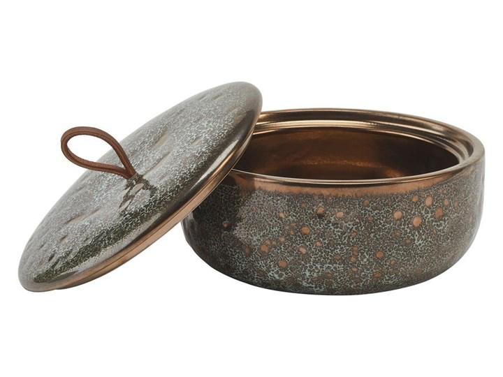 Miska z pokrywką Aquanova UGO Vintage Bronze Tworzywo sztuczne Ceramika Kategoria Mydelniczki i dozowniki Kolor Szary
