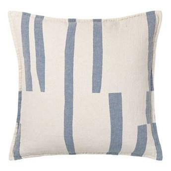 Poduszka bawełniana Elvang Lyme Grass Blue