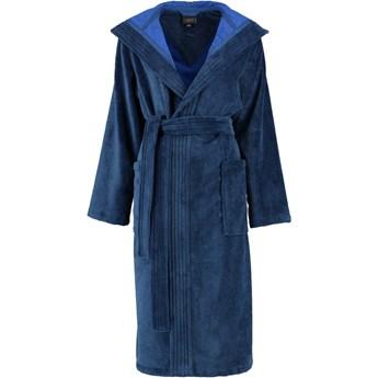 Szlafrok damski Cawo Basic Hooded Night Blue