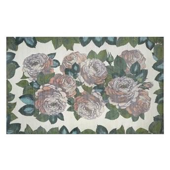 Dywan ręcznie tkany John Derian The Rose Sepia
