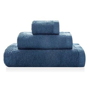 Ręcznik bawełniany Sorema Ribbon Dark Denim