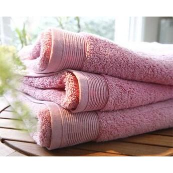 Ręcznik Blanc Des Vosges UNI Różowy Outlet
