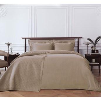 Poszewka żakardowa na poduszkę z plisą Valeron Momentum Camel
