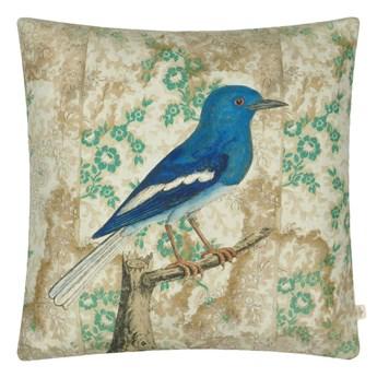 Poduszka dekoracyjna John Derian Wallpaper Birds Sepia