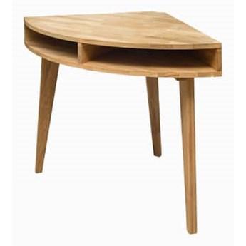 Stół drewniany, dębowy narożny Fabio