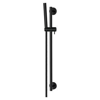 Microphone zestaw prysznicowy ścienny czarny MICROPHONE-SBL