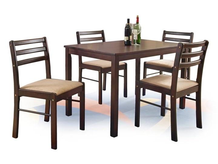 Stół New Starter + 4 krzesła Espresso