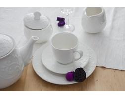 Serwis kawowy DUO HEMINGWAY II na 6 osób (12 el.) -- biały