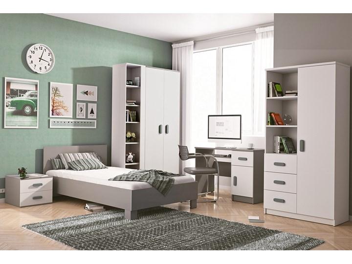 Szare meble do pokoju chłopca. Duży zestaw JUNIOR II Kategoria Zestawy mebli do sypialni