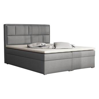 Łóżko kontynentalne z materacem DAKO BOX 140x200 podwójny pojemnik
