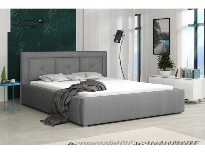 Łóżko tapicerowane MADERA PLUS 160x200 Pojemnik na pościel Z pojemnikiem