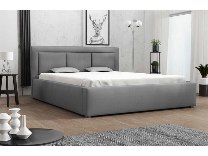 Łóżko tapicerowane MADERA 140x200 Pojemnik na pościel Z pojemnikiem Kategoria Łóżka do sypialni