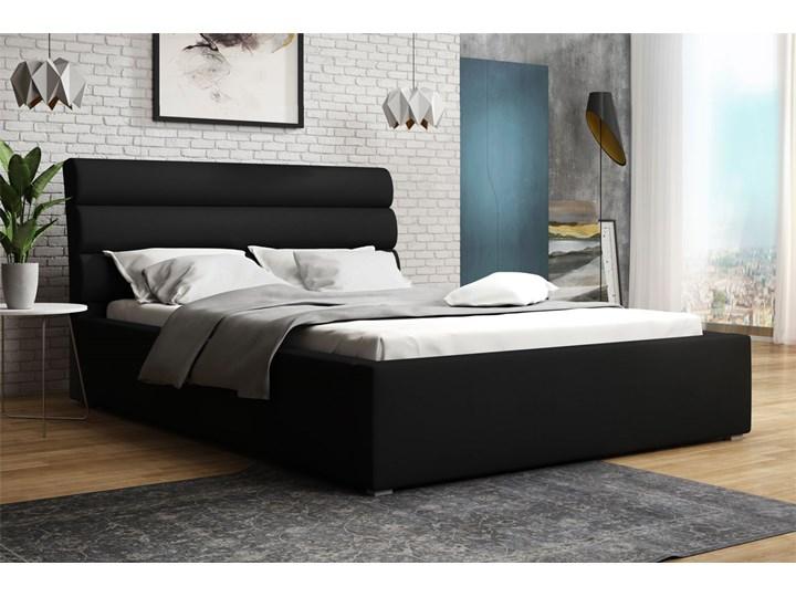 Łóżko tapicerowane MONOS 160x200 Pojemnik na pościel Z pojemnikiem