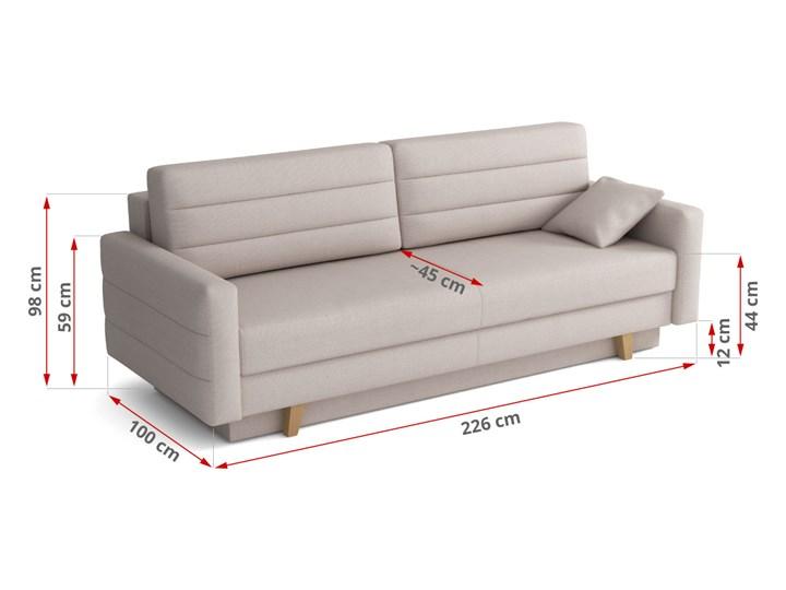 Elegancka i nowoczesna sofa - WIENA Pomieszczenie Salon Głębokość 145 cm Głębokość 100 cm Szerokość 226 cm Styl Klasyczny
