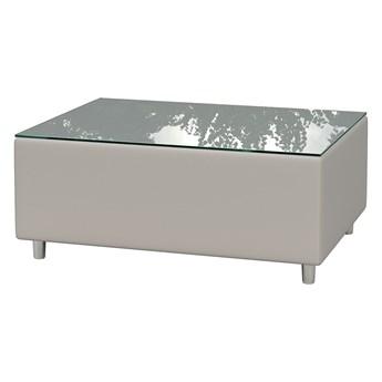 Wodoodporny stolik kawowy ogrodowy szary