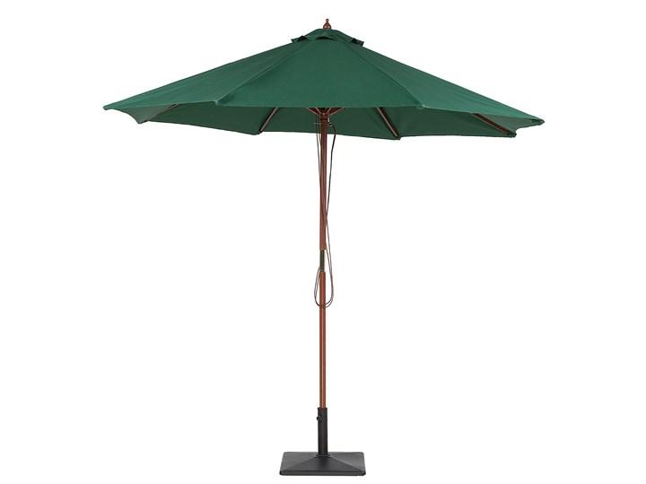 Parasol ogrodowy zielony składany duży 270 x 254 cm Parasole Kategoria Parasole ogrodowe