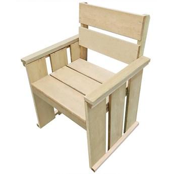 Drewniane krzesło ogrodowe - Maggie