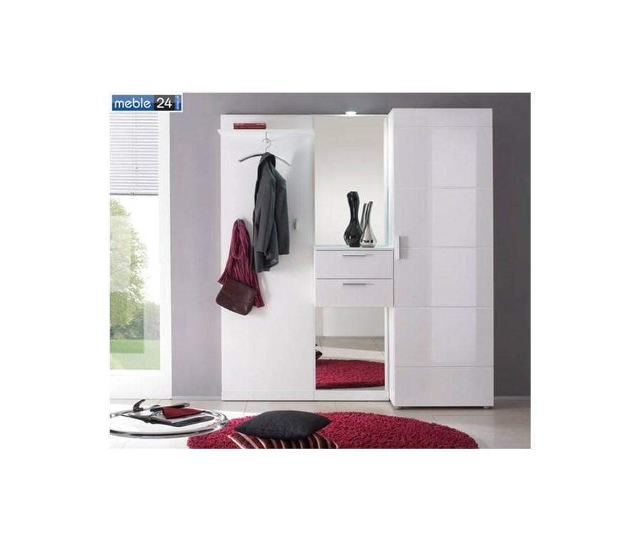 przedpok j omega 7 folia wysoki po ysk szare bia e. Black Bedroom Furniture Sets. Home Design Ideas