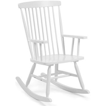 Fotel bujany Terence 56x98 cm biały