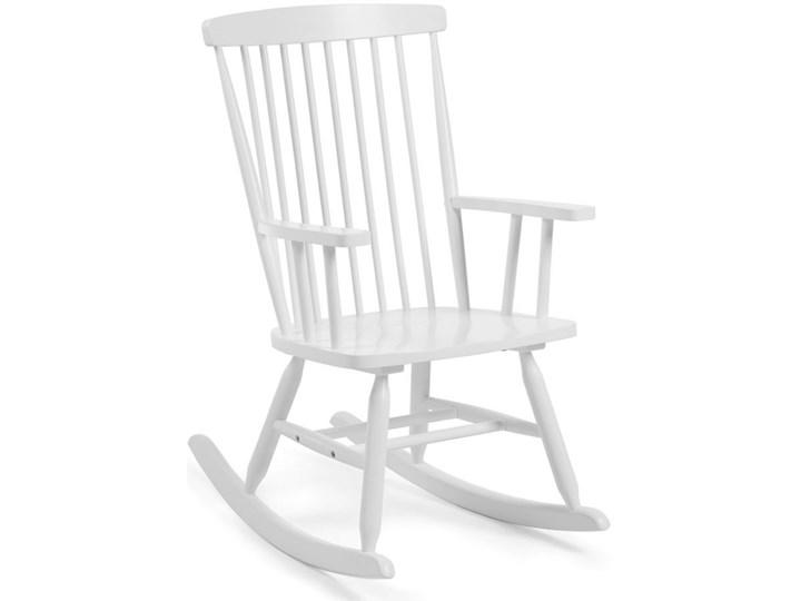 Fotel bujany Tenzo bialy