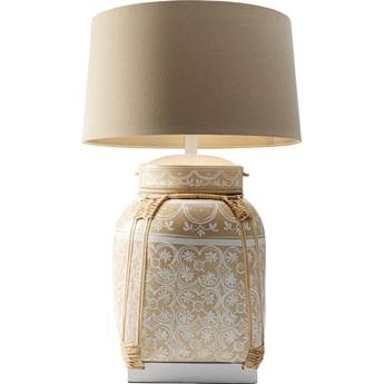 Lampa stołowa Basket Ø28x73 cm beżowa