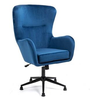 Nowoczesny fotel obrotowy Svein (YC-9118)  Niebieski
