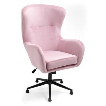 Fotel obrotowy w stylu skandynawskim  Svein (YC-9118) Różowy