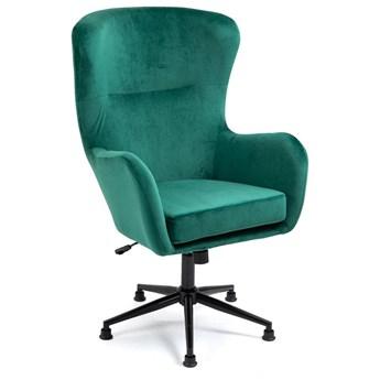 Fotel obrotowy  do salonu Svein (YC-9118) Zielony