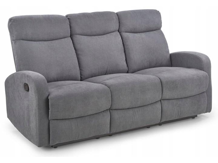 Sofa Rozkładana OSLO 3S Popiel HALMAR Głębokość 95 cm Styl Klasyczny