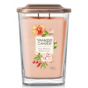 Świeczka duża Yankee Candle Elevation Collection Rose Hibiscus Słoik duży 553g
