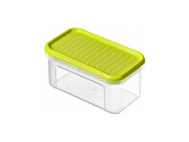 Pojemnik plastikowy ROTHO Domino 1741905070 0.5 L Limonkowy Żaroodporny Tworzywo sztuczne Na żywność Kolor Przezroczysty