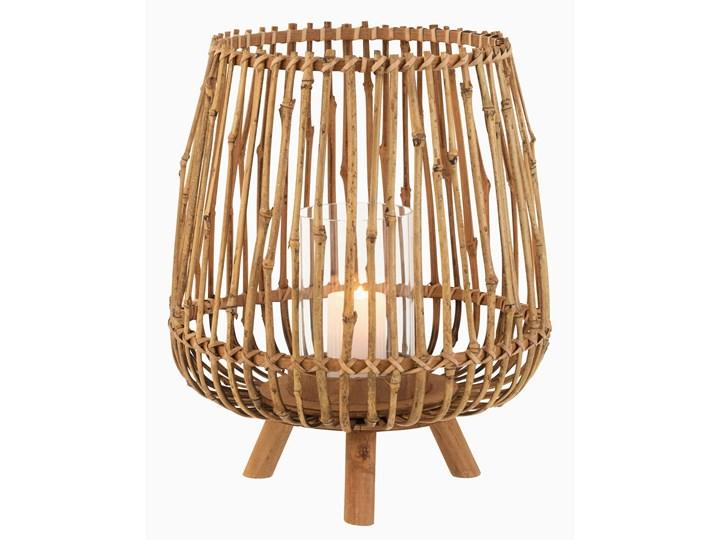 Bambusowy świecznik na 3 nóżkach Kategoria Świeczniki i świece Kolor Brązowy