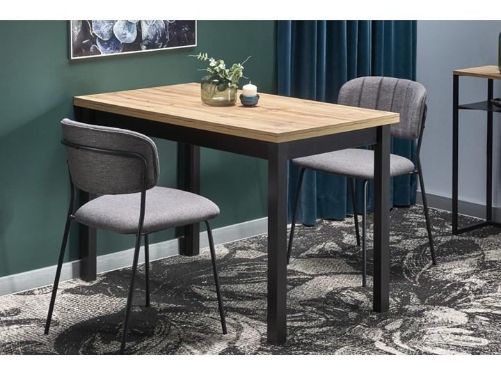 Nierozkładany stół w stylu industrialnym Cobalt Drewno Wysokość 120 cm Wysokość 77 cm Długość 120 cm  Metal Szerokość 120 cm Kategoria Stoły kuchenne Rozkładanie