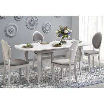Biały stół rozkładany w stylu retro Horacy