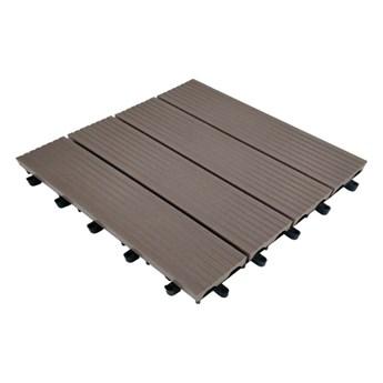 Podest balkonowy brązowy