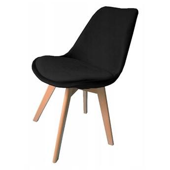 Krzesło Dior welurowe velvet czarne