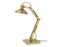 Lampa biurkowa metalowa mosidz // HK LIVING