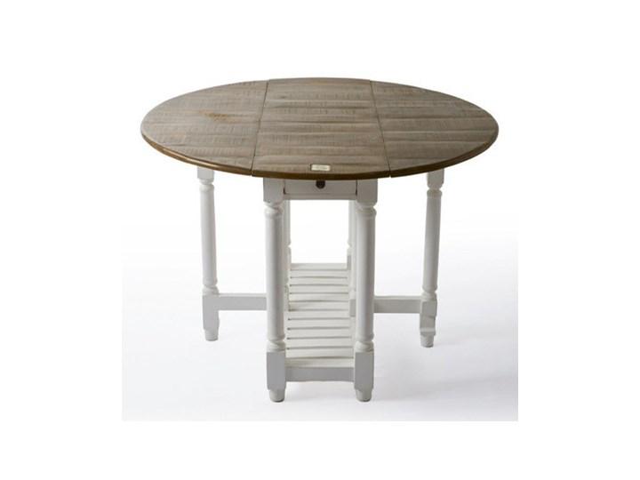 Stół Rozkładanykonsola średnica 110cm Kolekcja Morningside Riviera