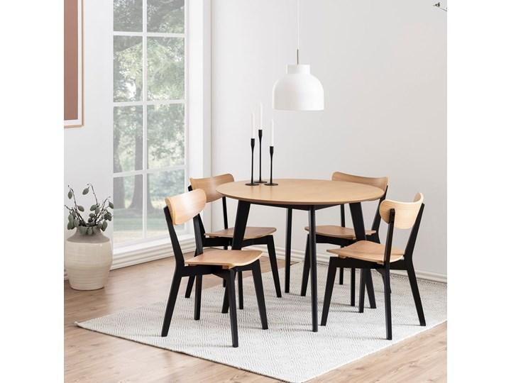 Krzesło Oto dębowe nogi czarne Głębokość 37 cm Głębokość 55 cm Drewno Wysokość 79 cm Szerokość 45 cm Styl Nowoczesny