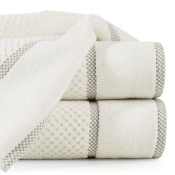 Ręcznik personalizowany PREMIUM - ecru - 70 x 140